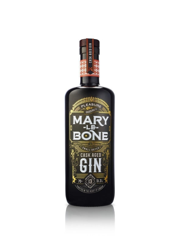 Mary-Le-Bone Cask Aged Gin 51.3% 70cl - thedropstore.com