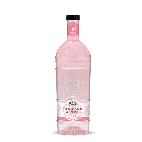 City of London Distillery Rhubarb & Rose Gin - Fine Wine Store