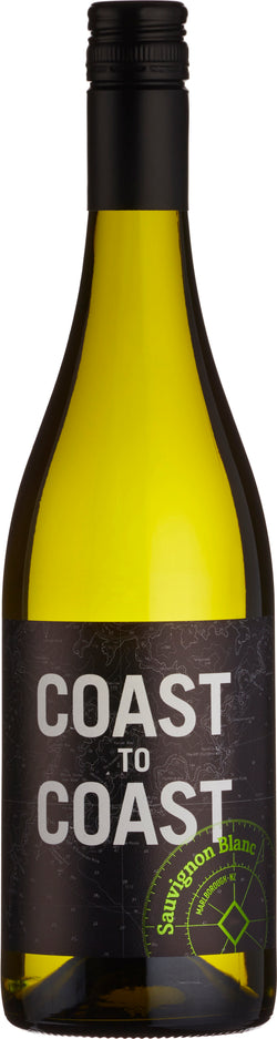 Coast To Coast Sauvignon Blanc, Marlborough, New Zealand, 2018