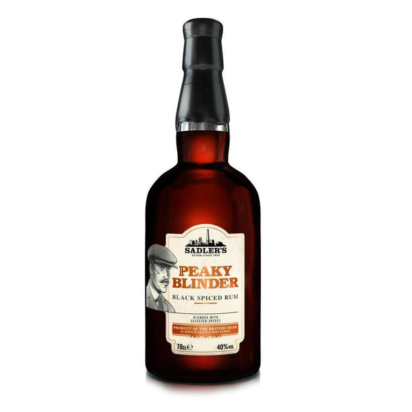 Peaky Blinder Black Spiced Rum 40% 70cl - Fine Wine Store