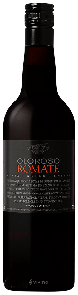 Romate Oloroso, Sherry, 18%, 75cl