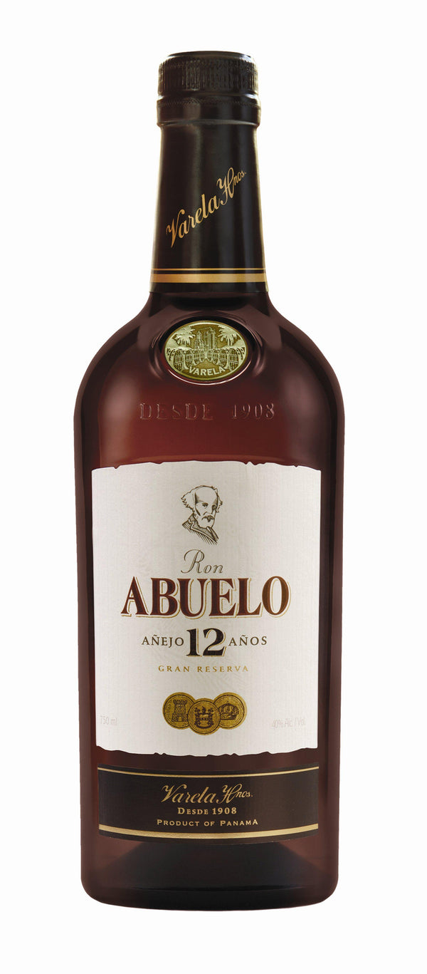 Ron Abuelo Rum 12yr old 40.0% 70cl - Fine Wine Store