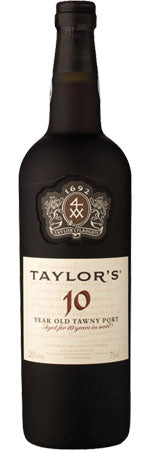 Taylor's 10-year-old Tawny Port, 20%, 75cl