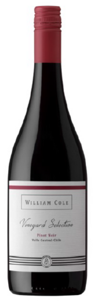 William Cole Vineyard Selection Pinot Noir 2016/17 14% 75cl - Fine Wine Store