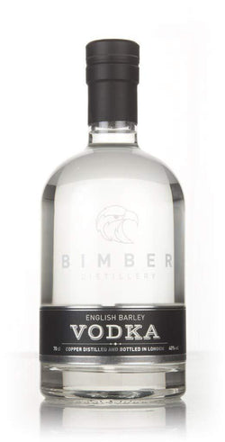 Bimber English Barley Plain Vodka 42% 70cl