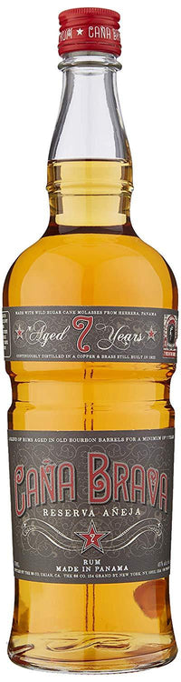 Cana Brava 7yr Old Panama Rum 45% 75cl - Fine Wine Store