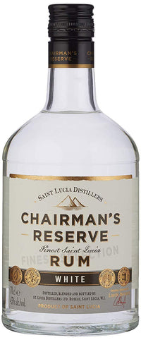 Chairman's Reserve White Label Rum 40% 70cl - Fine Wine Store