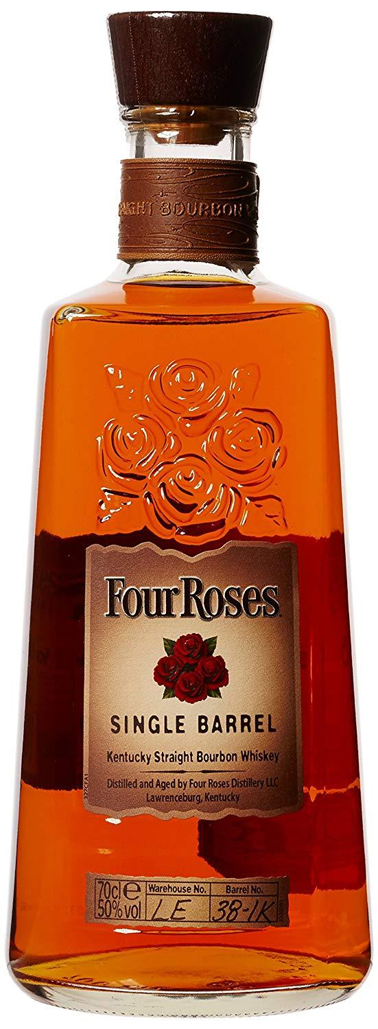 Four Roses Single Barrel Kentucky Straight Bourbon Whiskey 50% 70cl - Fine Wine Store