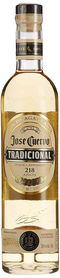 Jose Cuervo Traditional Reposado Tequila 38% 50cl - Fine Wine Store