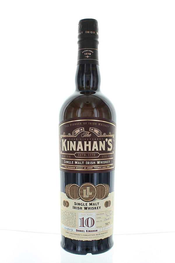 Kinahan's 10yr old Malt Whiskey 46.0% 70cl - thedropstore.com