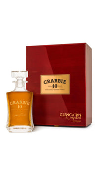 Crabbie 40 yr old Malt Scotch Whisky 44.5% 70cl - Fine Wine Store