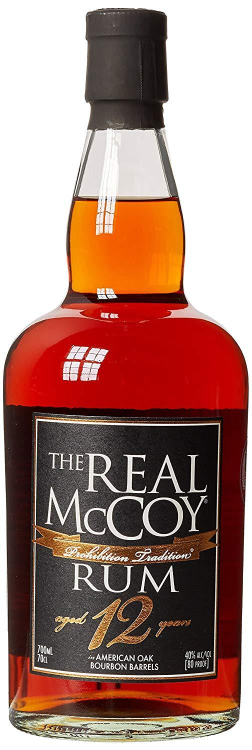 The Real McCoy 12yr Old Rum 40% 70cl - Fine Wine Store