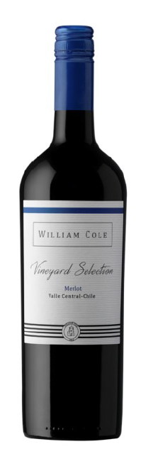 William Cole Vineyard Selection Merlot 2015 13.5% 75cl - Fine Wine Store