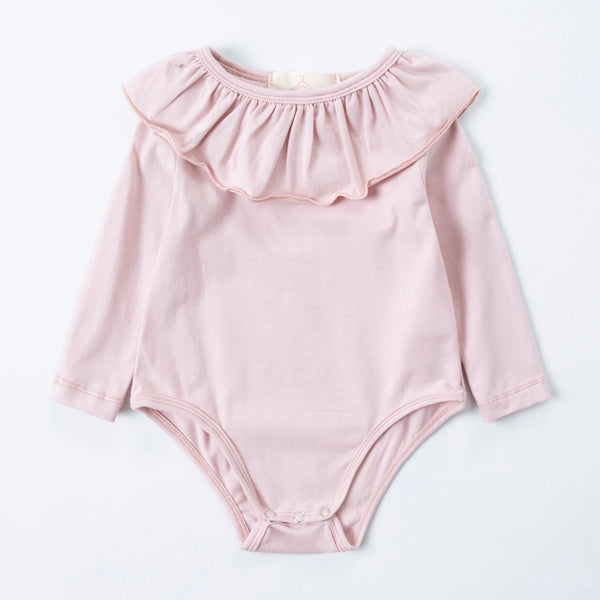 Blush pink essential bodysuit