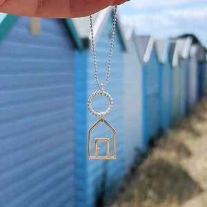 Beach Hut Pendant