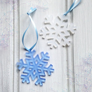 Perspex Snowflake Decoration