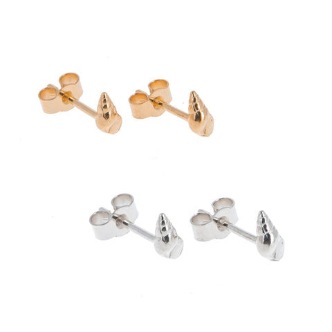 Tiny Twist Shell Studs
