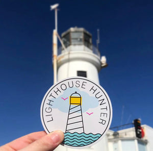 Lighthouse Hunter Sticker