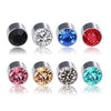Image of Fairy Magnetic Acupressure Weight Loss/Slimming Rhinestone Earrings