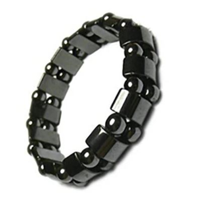 Sunstones Weight Loss Black Stone Magnetic Therapy Bracelet