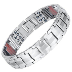 Super Healing Magnetic Titanium Men Health Bracelet