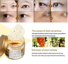 Bright Gold Osmanthus Eye Mask - Eliminate Dark Circle & Removing Eye Bags