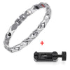 Image of Magnetic Germanium Stainless Steel Power Energy Woman Bracelet