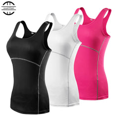 2018 Sexy Gym Top Sleeveless Sportswear S to 3XL