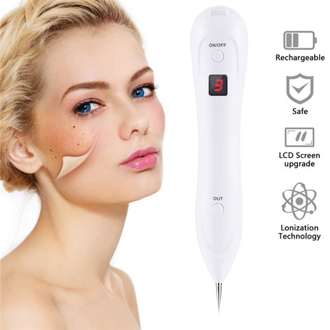 LED 6 Level Professional Tattoo, Dark Spot, Mole l Laser Removal Tool