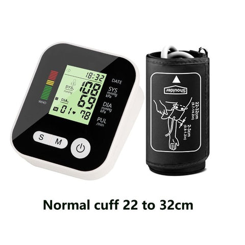 Automatic Digital LCD Upper Arm Blood Pressure Monitor