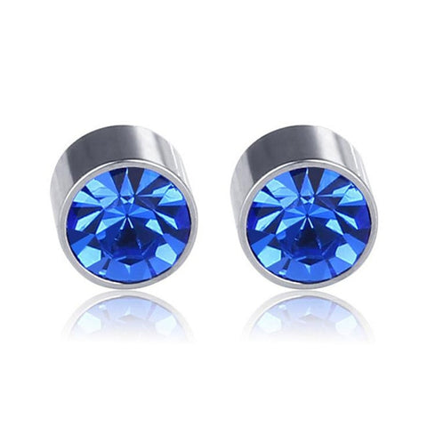 Fairy Magnetic Acupressure Weight Loss/Slimming Rhinestone Earrings