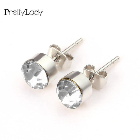 Pretty Lady Magnetic Acupressure Weight Loss/Slimming Alloy Earrings