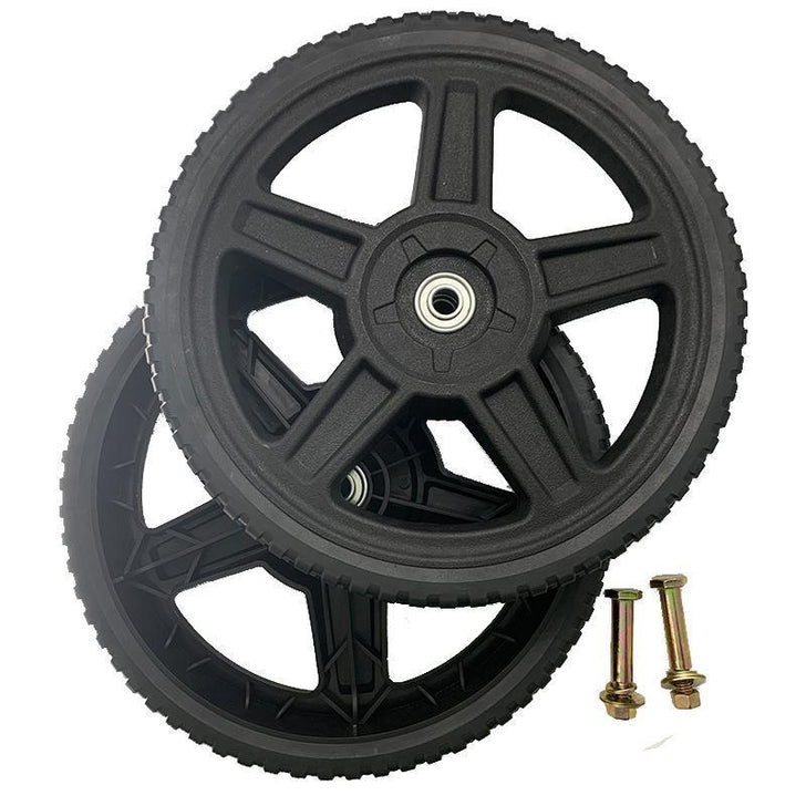 "Universal Wheels Kit 12"" For Push Mower"