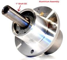 Spindle Assembly Scag OEM 46400, 46020 Aluminium Assembly Shaft OD 1""