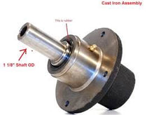 Load image into Gallery viewer, Spindle Assembly OEM Scag 461663 Cast Iron assembly Shaft OD 1 1/8""