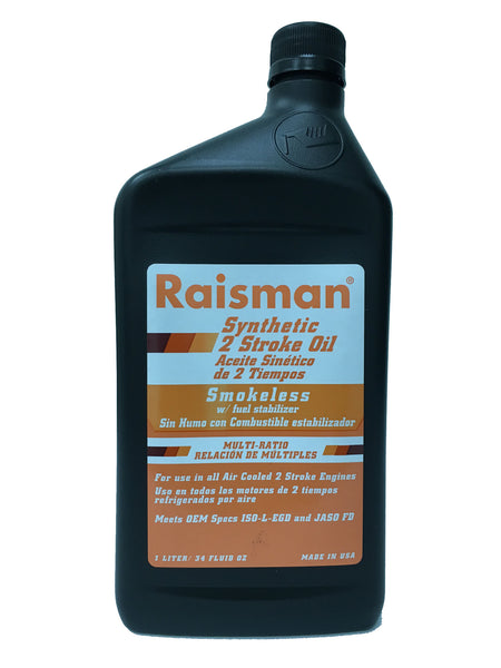 Oil 2 Stroke No Smoke Full Synthetic 34 fl oz (1L)