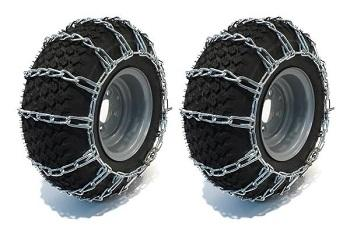 Tire Chains Zinc Plated 22x8.00-10 - 2 link