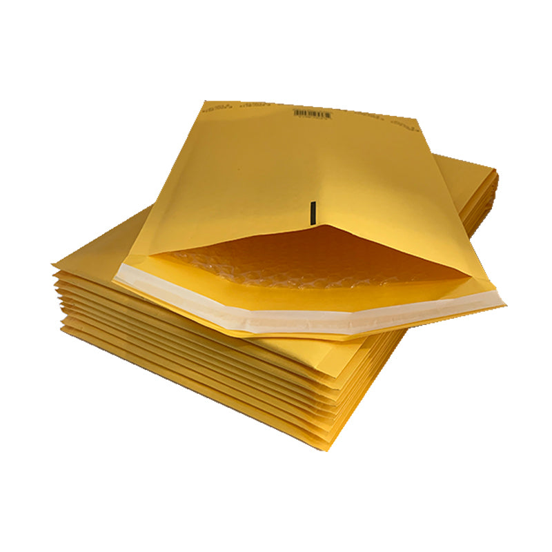 Gold Self-Seal Padded Mailers 9 X 14""
