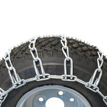 Load image into Gallery viewer, 2 Link Tire Chain-Zinc Plated 20 x 8.00-8