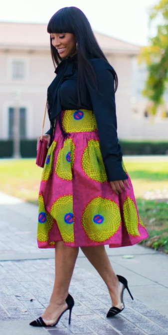 TIPS ON HOW TO STYLE THE AFRICAN PRINT MAXI SKIRT