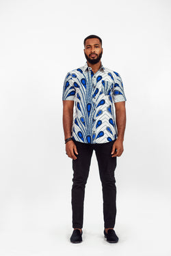 AFRICAN WALID SHORT SLEEVE SHIRT