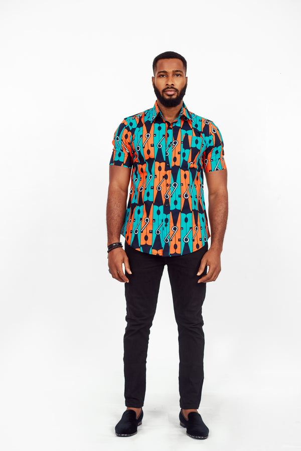 AFRICAN YONAS SHORT SLEEVE SHIRT