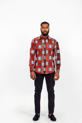 AFRICAN CHINAU LONG SLEEVE SHIRT