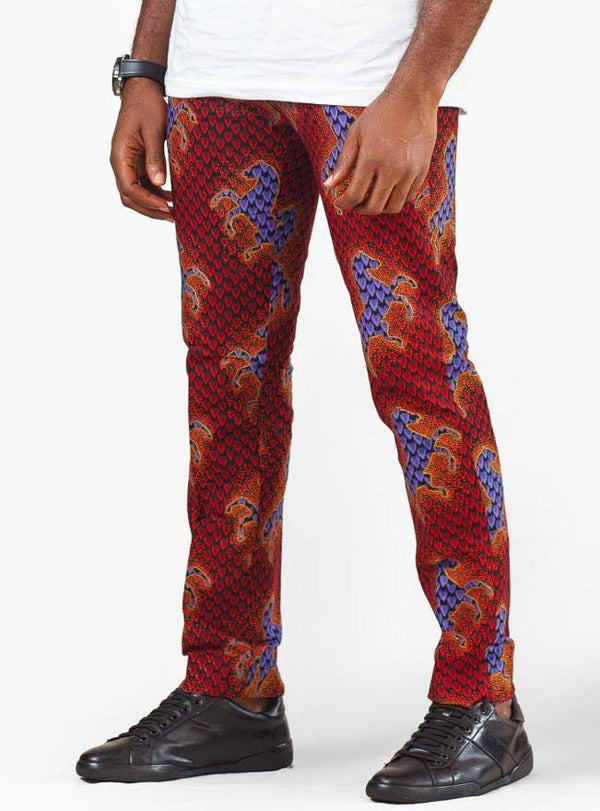 African print Olufemi Pant