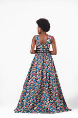 African clothing maxi dress