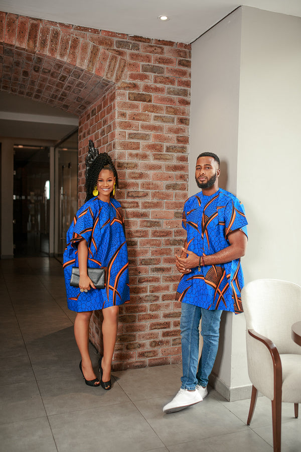 THE AFRICAN ANKARA ITORO DASHIKI FOR MEN