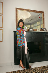 African Ankara Ibinye power jacket