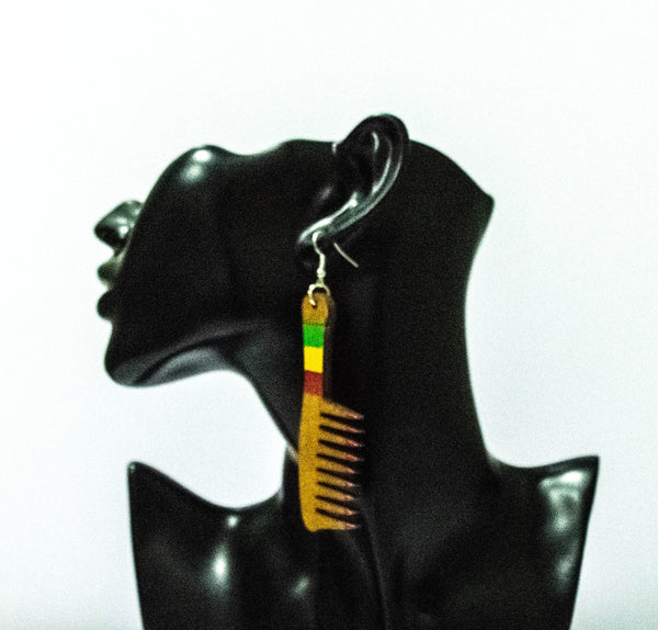 Small Comb Earrings