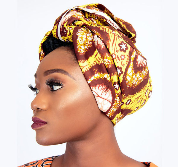 African Print Dashan Head Wrap
