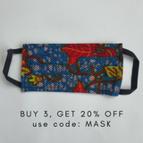 ADULT REUSABLE FACE MASK WITH COMPLEMENTARY FILTER